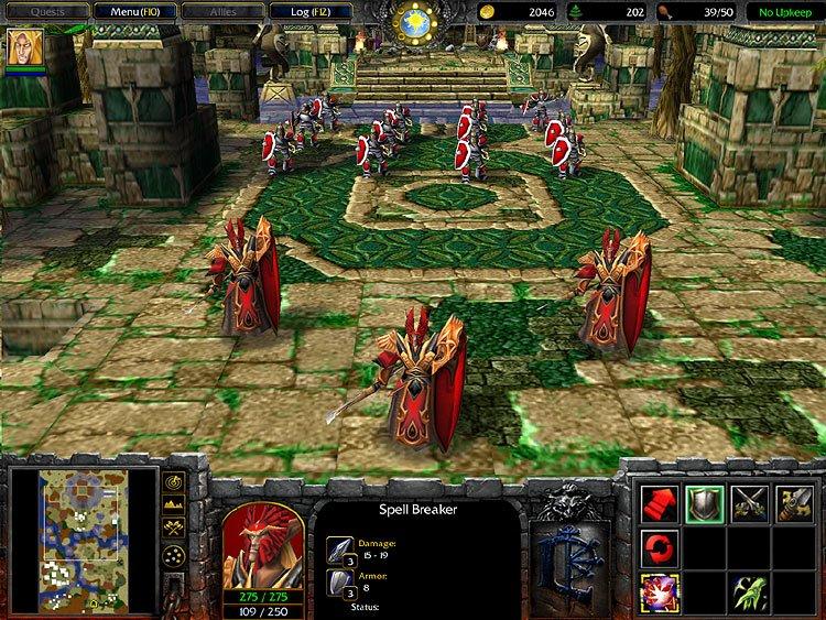 скачать карту 23 расы для Warcraft 3 Frozen Throne - фото 9