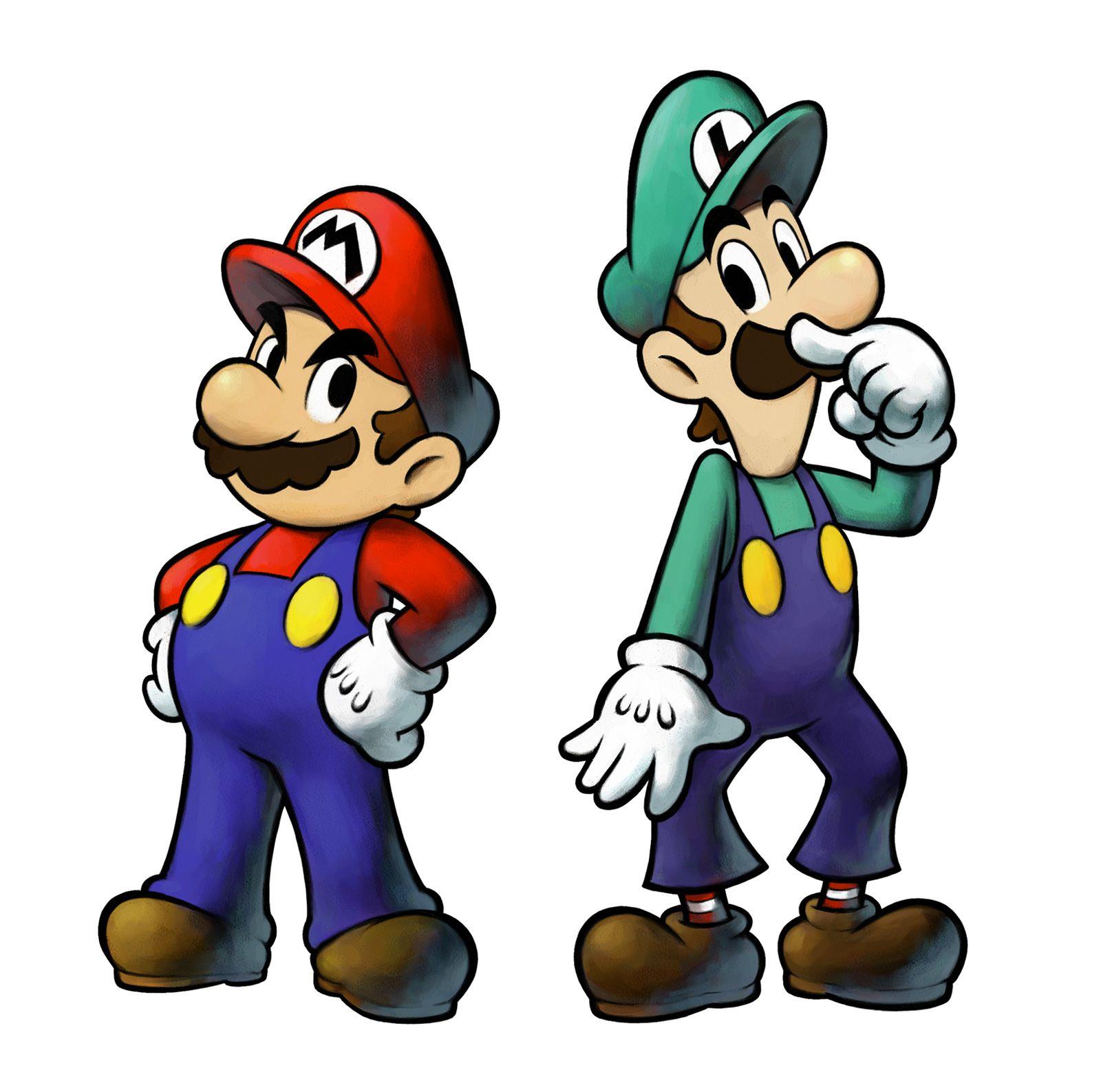 Игру Mario And Luigi