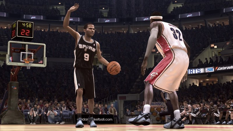 Nba2k08 program itself works simply, asking users to load images into a nba2k08 show