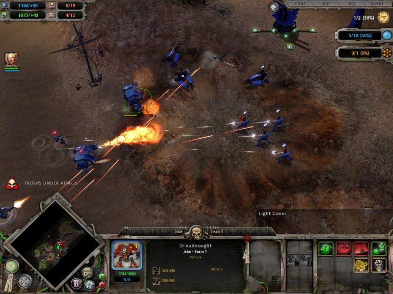 Warhammer 40000: dawn of war карта fallen titan (4)