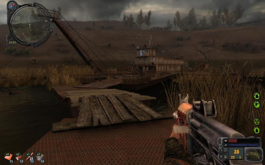 Игра сталкер call of pripyat