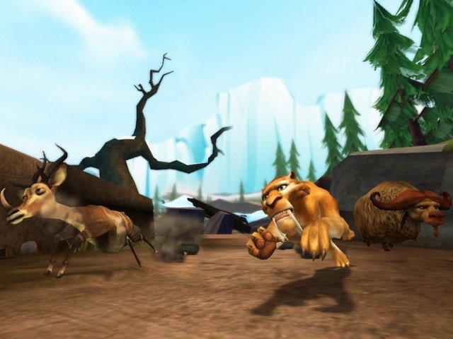 Играть игры ледниковый период эра динозавров