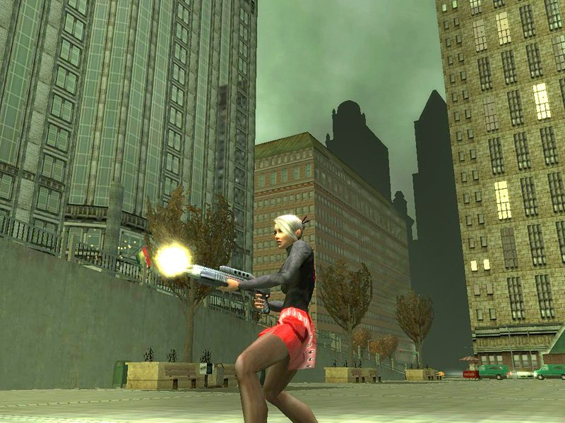 Walkerdc-best games скриншот The Matrix Online (PC) игра(image