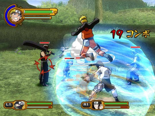 Скриншоты: naruto clash of ninja revolution 2 (2008)