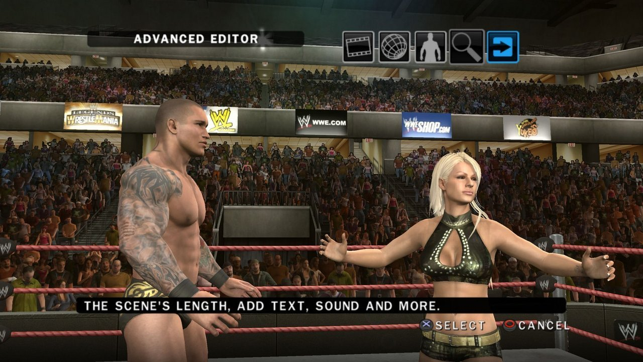 How to nude in game wwe hardcore tube