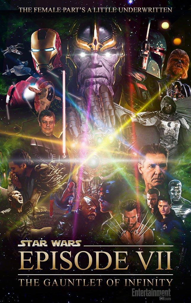 Фанатские постеры Star Wars: Episode VII | Канобу - Изображение 37