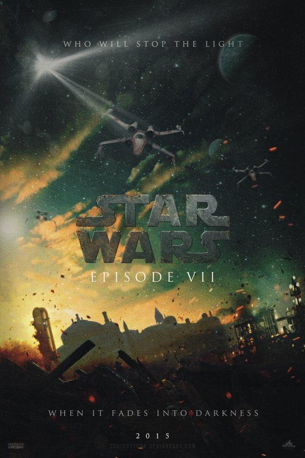 Фанатские постеры Star Wars: Episode VII | Канобу - Изображение 2