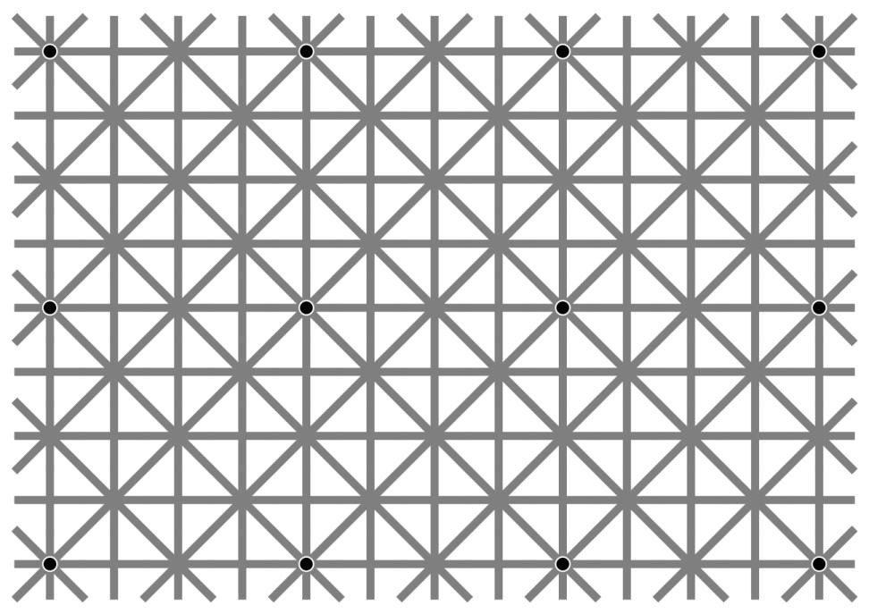 Двенадцать черных точек, которые вы не увидите