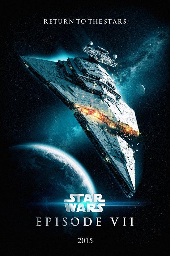 Фанатские постеры Star Wars: Episode VII | Канобу - Изображение 1