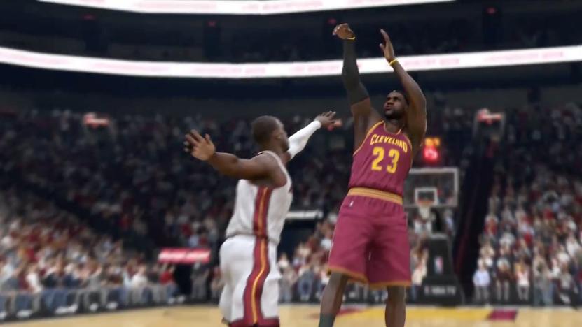 Баскетболисты пританцовывают в трейлере NBA Live 15 - Изображение 3