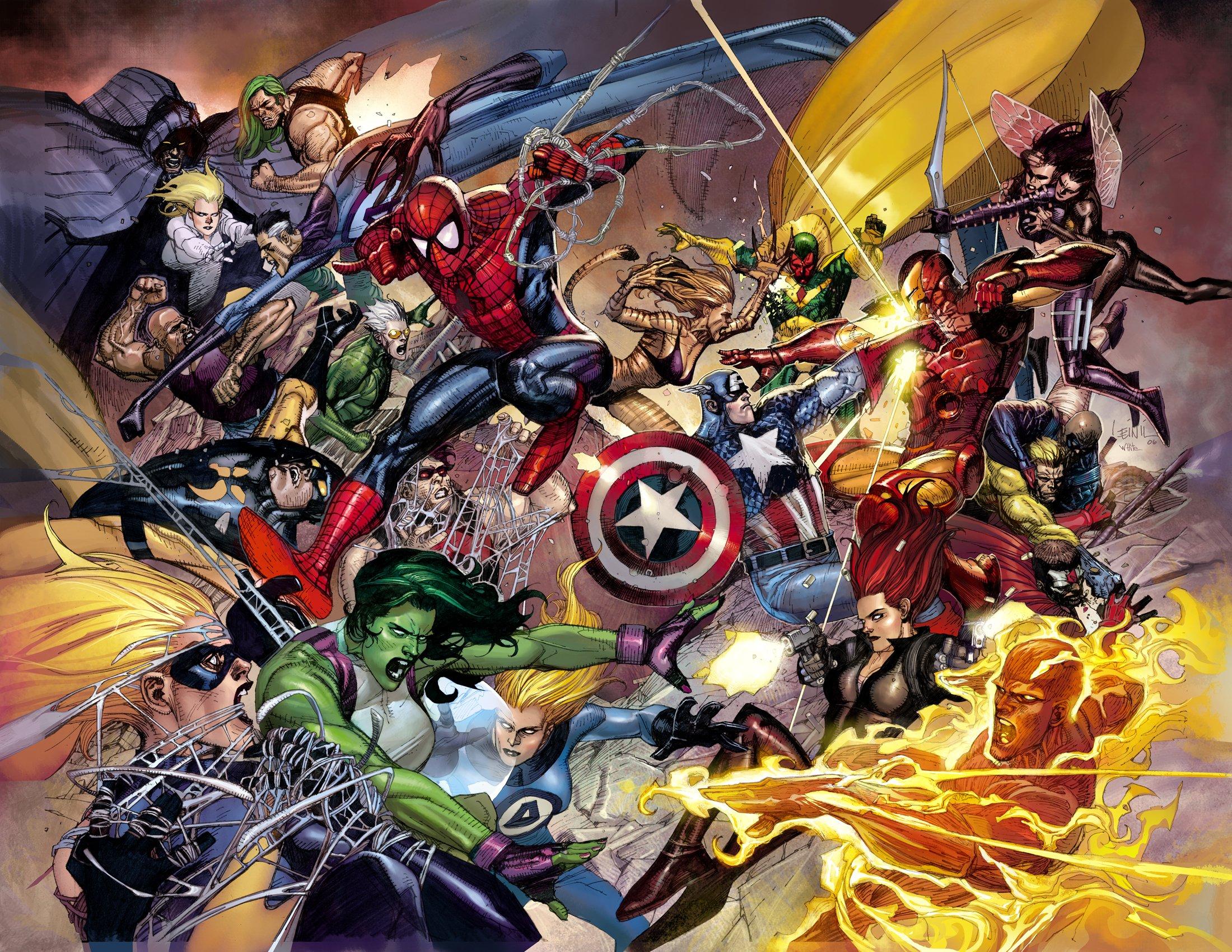 Marvel опубликовали актерский состав и синопсис «Гражданской войны»