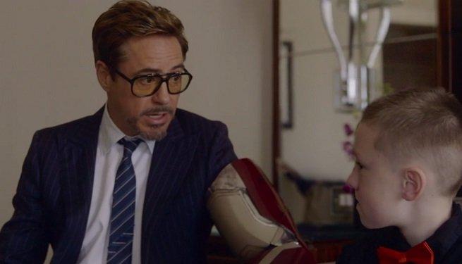 Мальчик-инвалид получил бионическую руку от самого Тони Старка