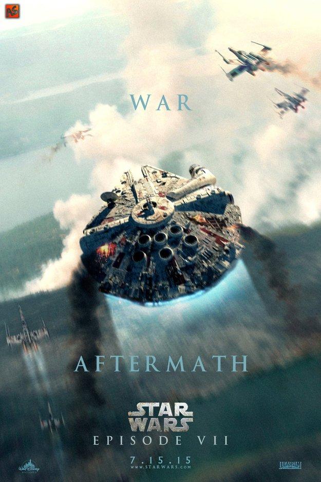 Фанатские постеры Star Wars: Episode VII | Канобу - Изображение 3