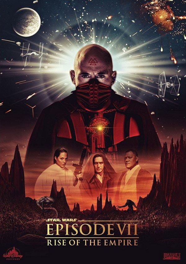 Фанатские постеры Star Wars: Episode VII | Канобу - Изображение 23