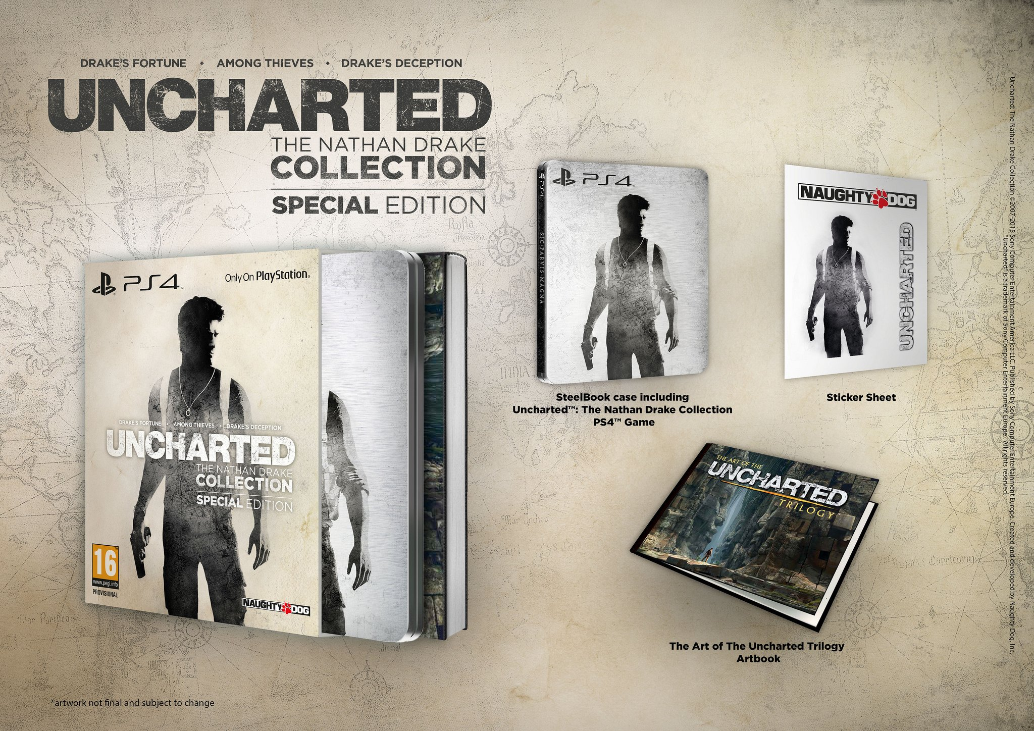 Специальное издание Uncharted: The Nathan Drake Collection