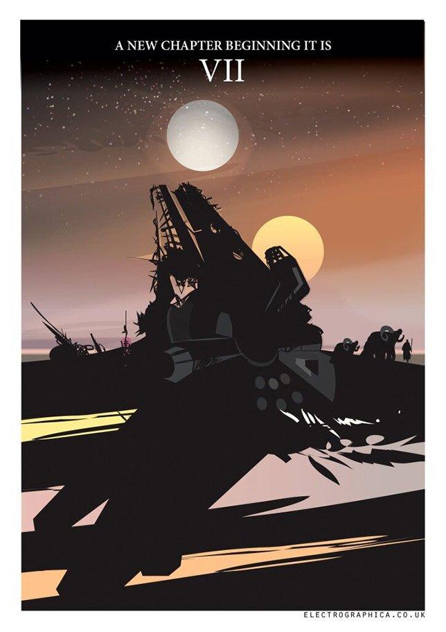 Фанатские постеры Star Wars: Episode VII | Канобу - Изображение 19