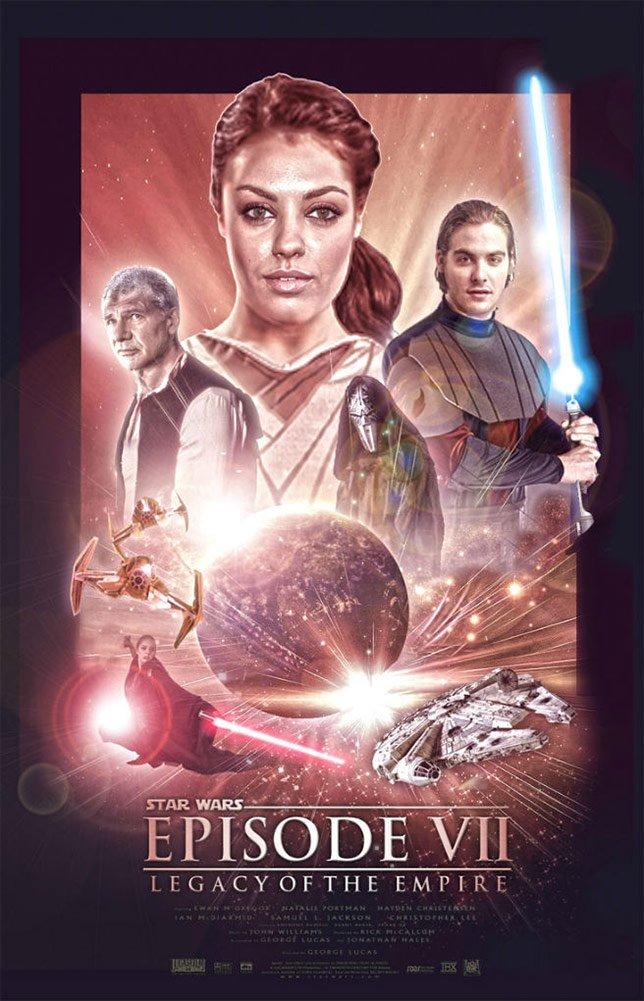 Фанатские постеры Star Wars: Episode VII | Канобу - Изображение 25