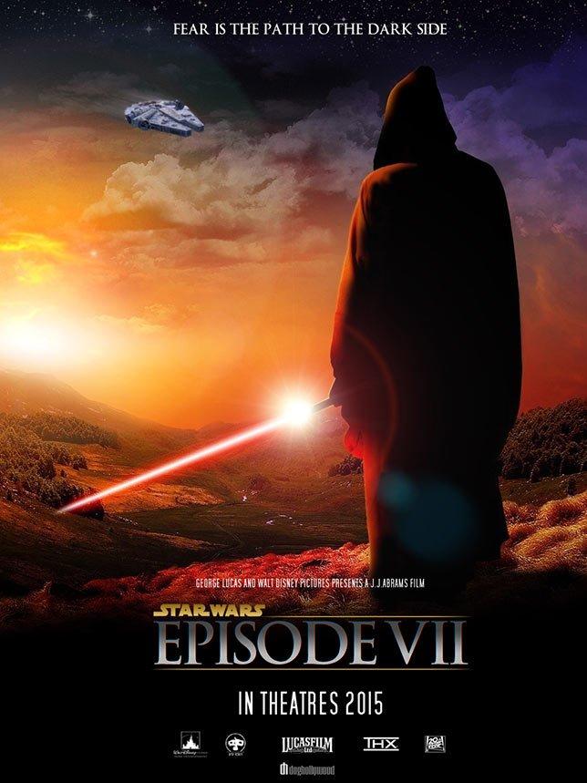 Фанатские постеры Star Wars: Episode VII | Канобу - Изображение 21