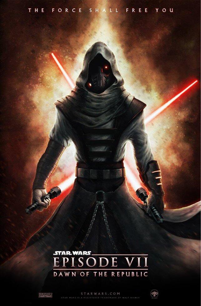 Фанатские постеры Star Wars: Episode VII | Канобу - Изображение 16