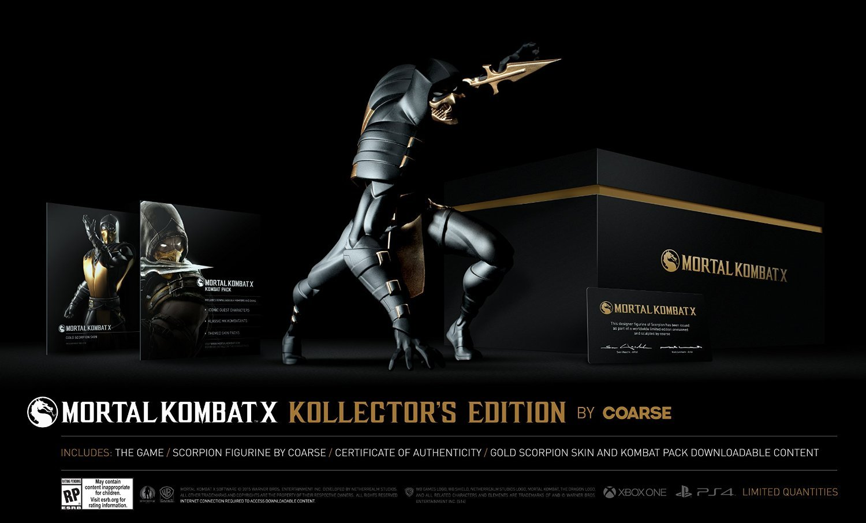 Коллекционное издание Mortal Kombat X: фигурка Скорпиона за $150
