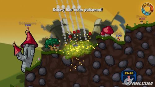 За 14 лет своего существования игровая серия The Worms прочно заняла место в наших сердцах, и по сей день эта пошаго .... - Изображение 3