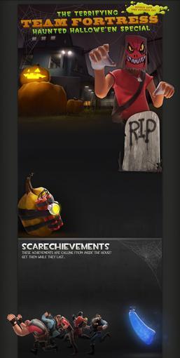 На носу - Хэллоуин и Valve, разумеется, не могла упустить возможности как следует постебаться вместе с игроками в ht .... - Изображение 1