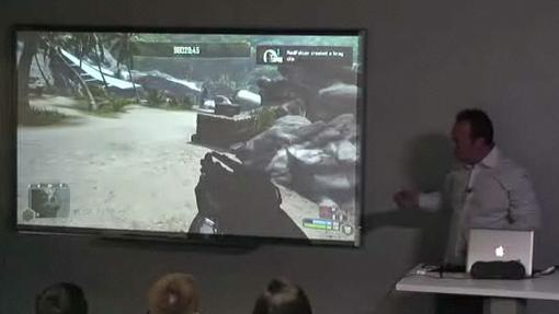 В Нью-Йорском филиале Columbia University прошла демонстрация технологии  OnLive  игрового сервиса, специализирующег .... - Изображение 1