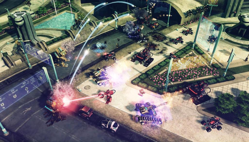 скачать игру Command Conquer 4 - фото 5