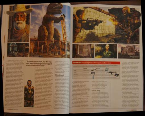 Журнал PC Gamer опубликовал первые подробности о постъядерной RPG Fallout: New Vegas, над которой Obsidian Entertain .... - Изображение 2