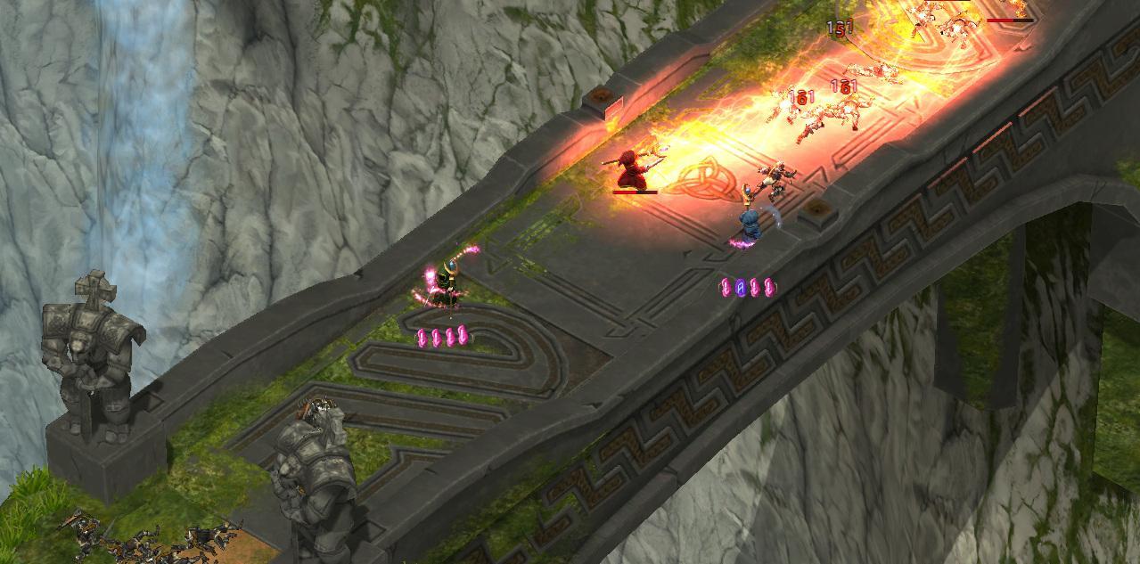 Magic rush: heroes наполнена эпическими битвами лицом к лицу, сочетая лучшие элементы rpg игры
