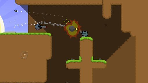 TeeWorlds  многопользовательская 2d opensource игра, её часто сравнивают с такой игрой как soldat, но особенности фи .... - Изображение 1
