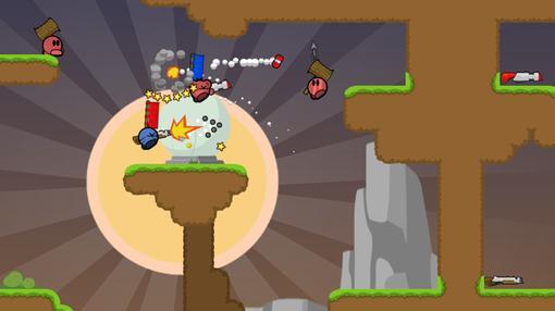 TeeWorlds  многопользовательская 2d opensource игра, её часто сравнивают с такой игрой как soldat, но особенности фи .... - Изображение 2