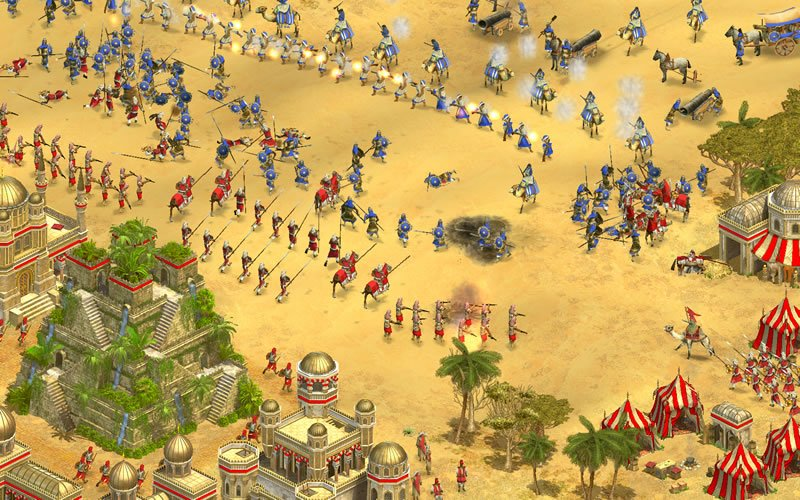 Rise Of Nations:Thrones And Patriots