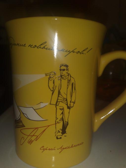 """Месяц назад купил в магазине комплект чая """"ЛИПТОН"""" в комплекте был сам чай и кружка, дак вот на кружке изображен нек .... - Изображение 1"""