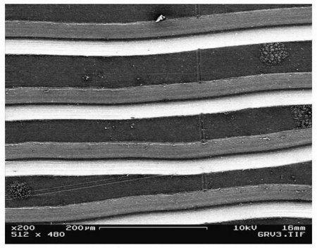 Уникальные снимки поверхности виниловых пластинок с большим увеличением, полученные с помощью электронного микроскоп .... - Изображение 1