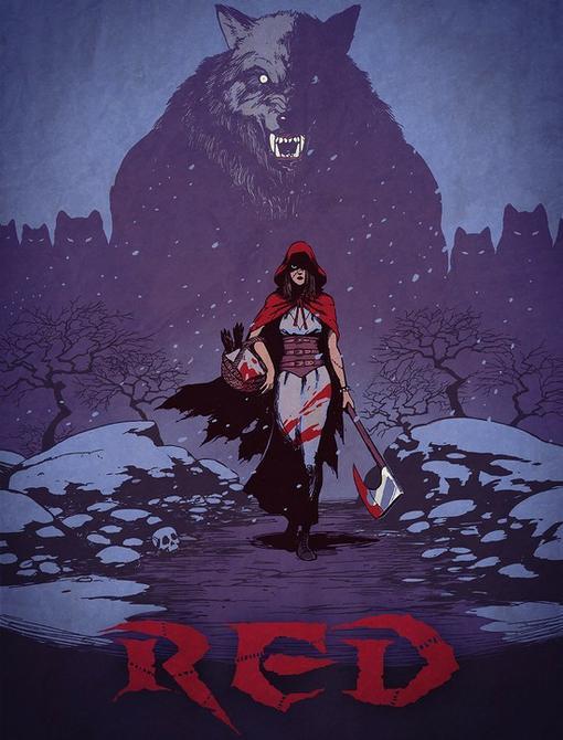 В своем блоге, дизайнер American McGee опубликовал  концепт-арт к игре по мотивам Little Red Riding Hood. По словам  .... - Изображение 1