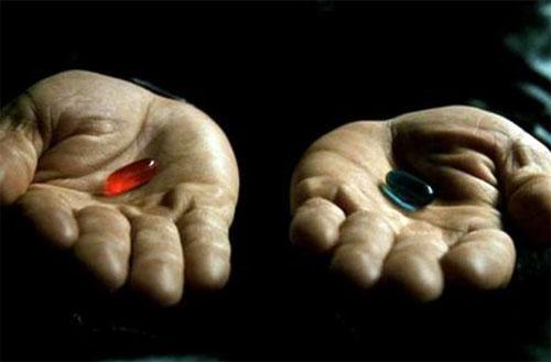 """Помните, в """"Матрице"""" Морфеус предложил Нео на выбор две таблетки  красную и синюю, - и герою Киану Ривза предстояло  .... - Изображение 1"""