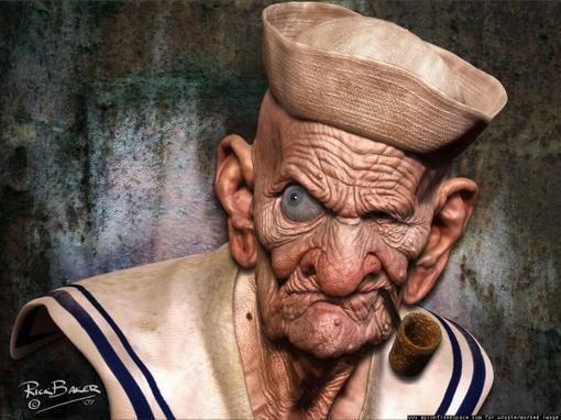 Компания Sony объявила о серьезном намерении представить Моряка Попая на широком экране и и конечно же в 3D. По данн .... - Изображение 1