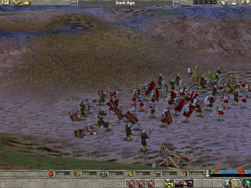 Empire Earth Art of Conquest Скриншот Empire Earth The Art