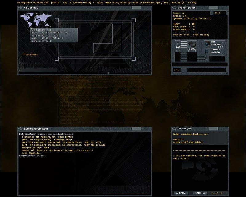 Hacker evolution (pc)