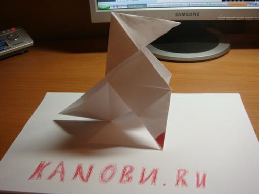 Доброго времени суток, обитатели Канобу.   Давеча сделал оригами из Heavy Rain.   К чёрту слова...  Хотите сделать т .... - Изображение 2