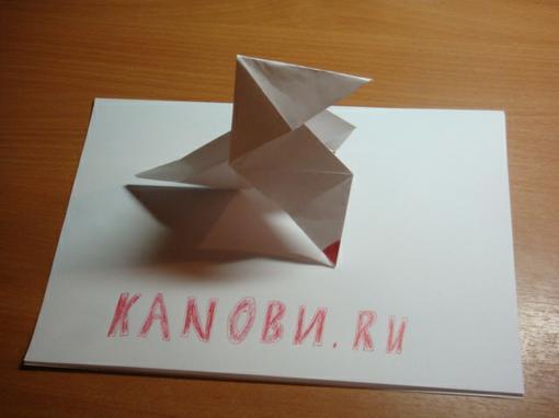 Доброго времени суток, обитатели Канобу.   Давеча сделал оригами из Heavy Rain.   К чёрту слова...  Хотите сделать т .... - Изображение 3