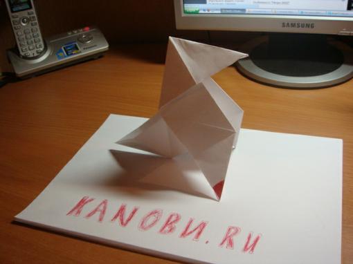 Доброго времени суток, обитатели Канобу.   Давеча сделал оригами из Heavy Rain.   К чёрту слова...  Хотите сделать т .... - Изображение 1