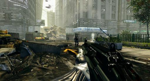 Немецкий сайт PCGames опубликовал два геймплейных скриншота игры Crysis 2.. - Изображение 2