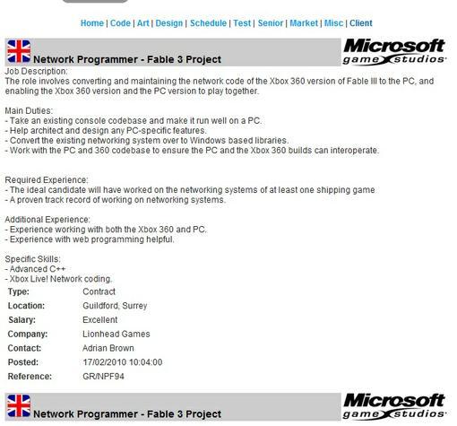 Fable 3 была анонсирована эксклюзивно для Xbox 360, однако обладатели РС, возможно, тоже смогут приобщиться к миру А .... - Изображение 1