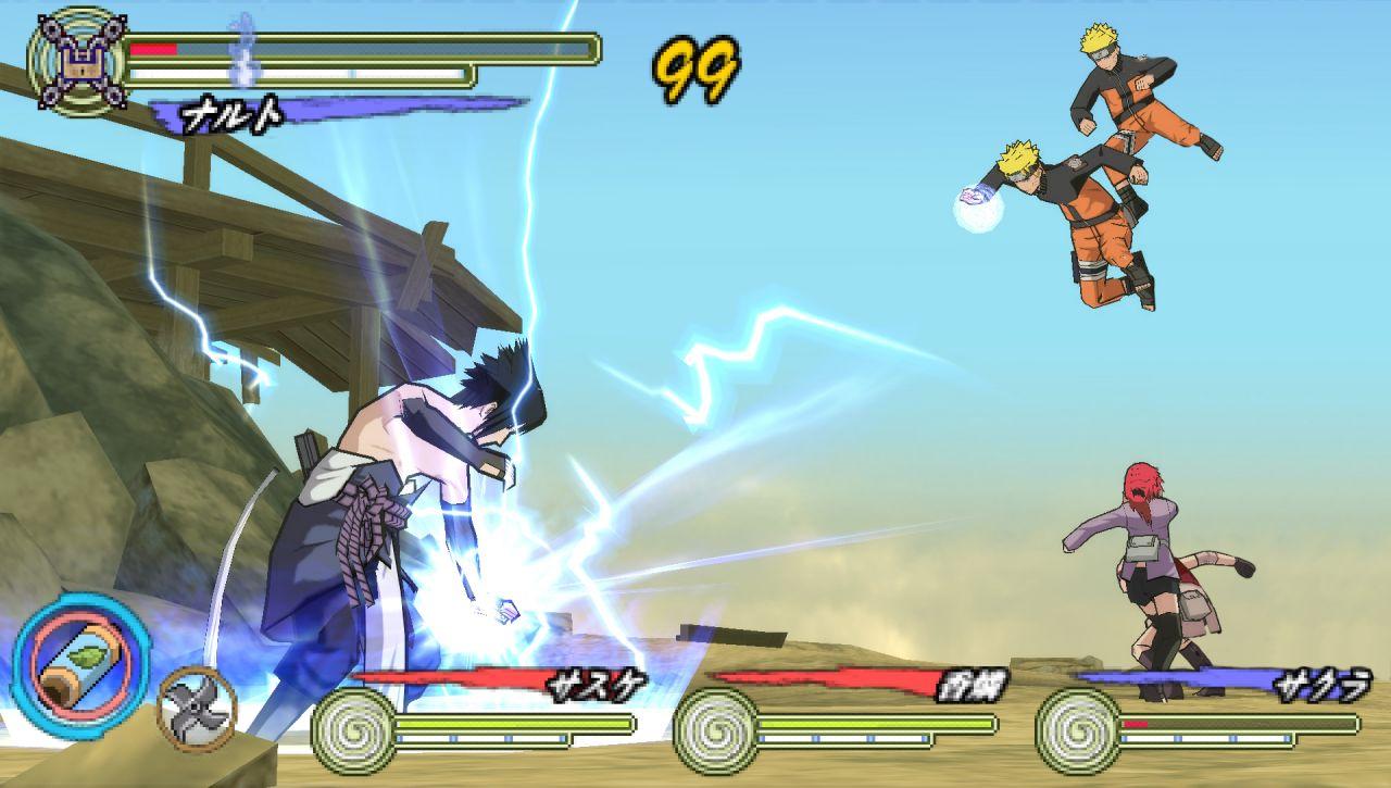 Показать / скрыть текст игра для psp naruto shippuden ultimate ninja impact это продолжение