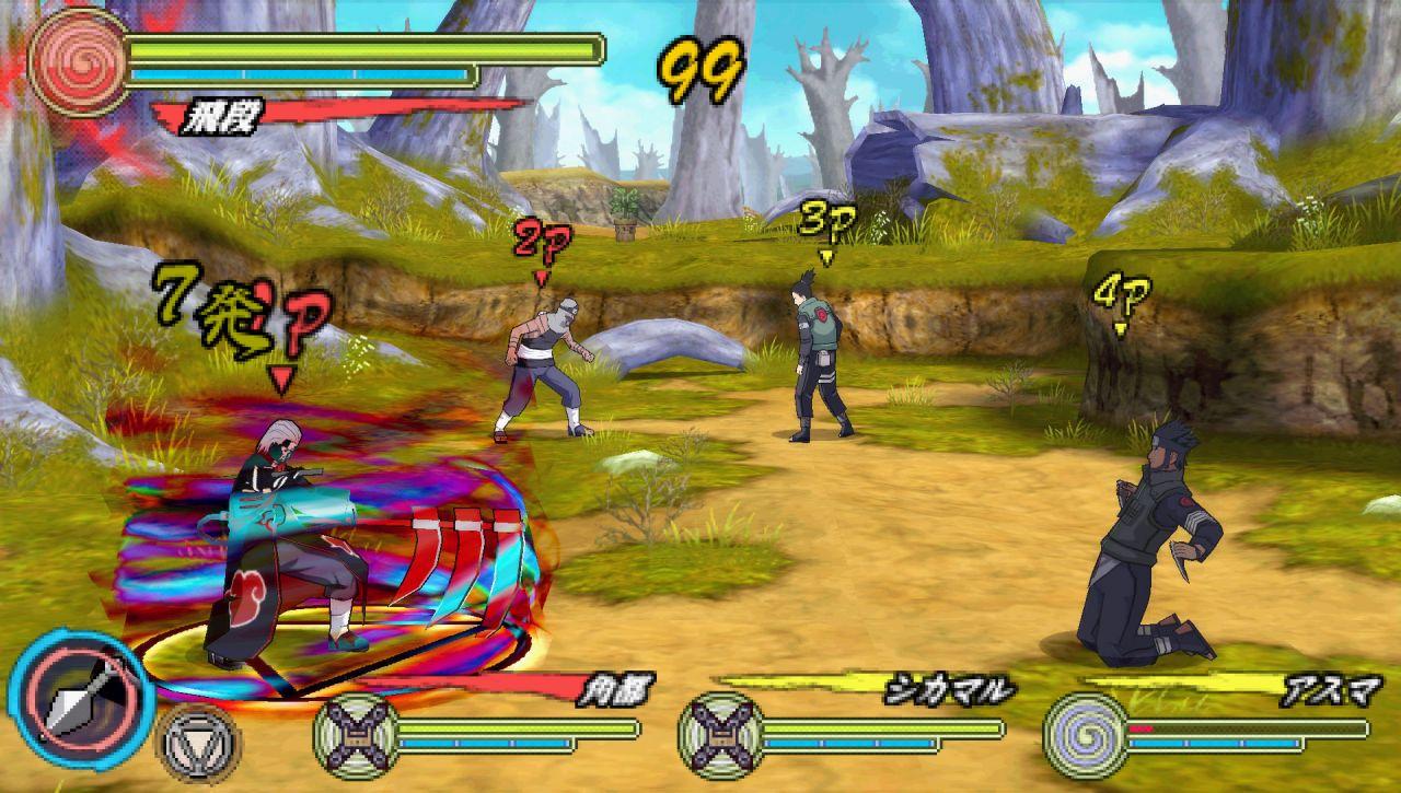 Naruto ultimate ninja battle (psp/eng)