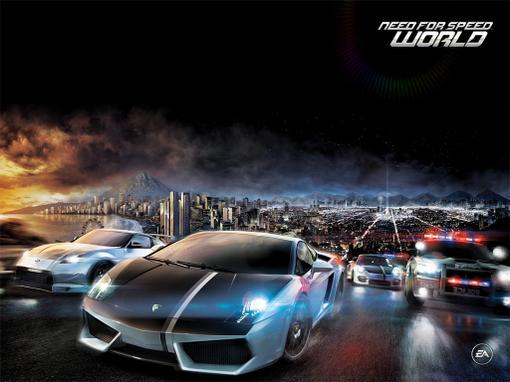 """Анонсированная в начале 2009 г. MMORacing """"Need for speed: World"""", и в дальнейшем озвученная создателями как """"Free-t .... - Изображение 1"""