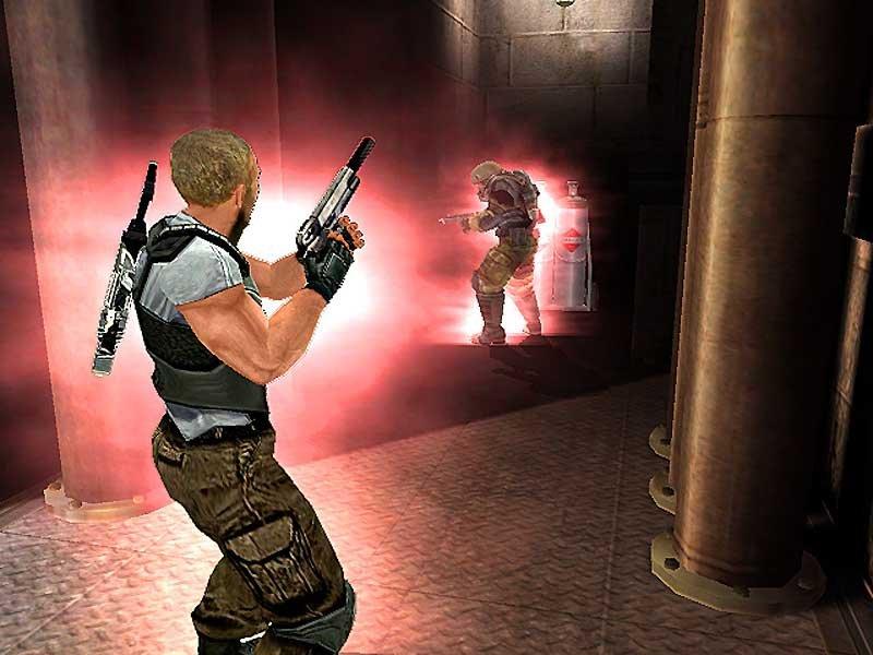 Скриншот игры Psi-Ops The Mindgate Conspiracy (DVD) .