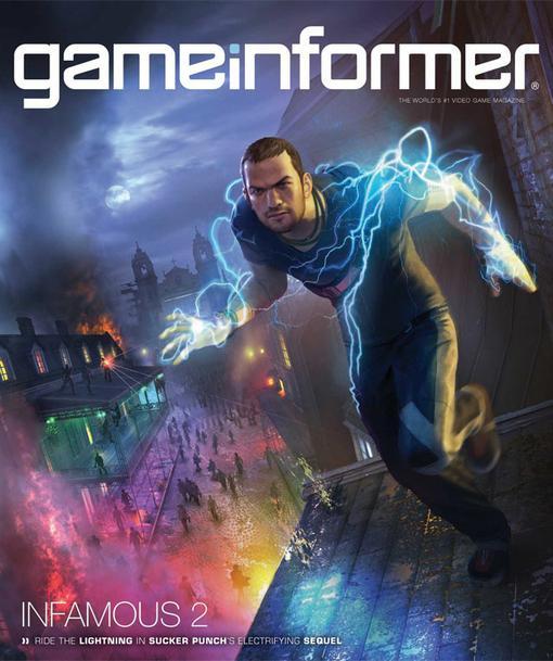 Sucker Punch легко и непринуждённо через обложку июльского номера GameInformer анонсировали вторую часть inFamous. И .... - Изображение 1